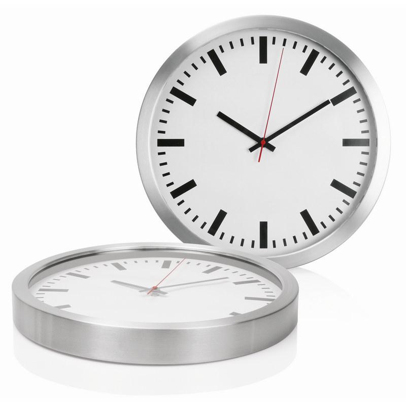 40cm Aluminium Wall Clock C472_GLOBAL