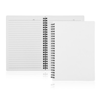 A5 80 Leaf Spiral Bound Notebook