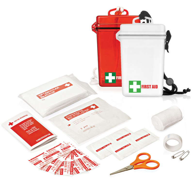 21pc Waterproof First Aid Kit FA104_GLOBAL