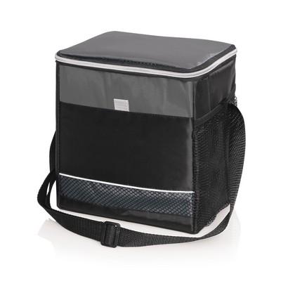 6 Bottle12 Can Cooler Bag wCarry Strap - 9L
