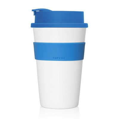 Cup 2 Go Eco Coffee Cup 475ml (Screw-On Lid)