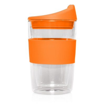 Eco Coffee Cup Glass Double Wall Cup2Go 300ml M266F_GLOBAL