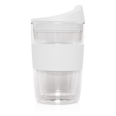 Eco Coffee Cup Glass Double Wall Cup2Go 300ml M266G_GLOBAL
