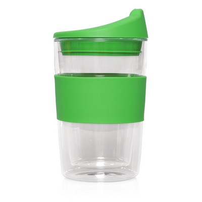 Eco Coffee Cup Glass Double Wall Cup2Go 300ml M266I_GLOBAL