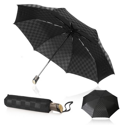 Shelta FoldingCompact 58cm Checkerboard Umbrella