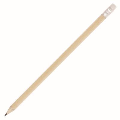 Natural Wood Sharpened Pencil wEraser