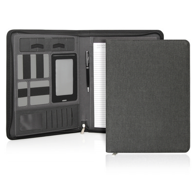 Compendium A4 Ebony Executive Tech Zipper