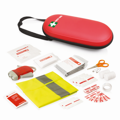 First Aid Kit PU Case 40pc