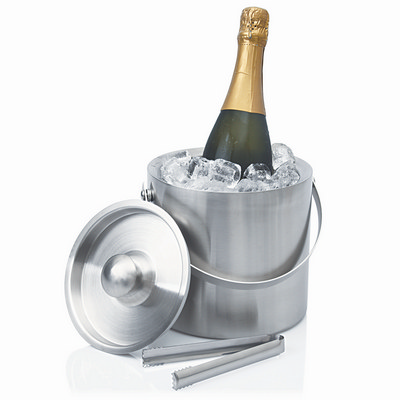 Ice Bucket Stainless Double Wall Contemporary L416_GLOBAL