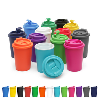 Eco Coffee Cup Plastic Double Wall Cup2Go 356ml