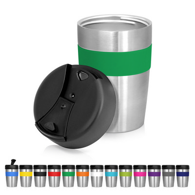 Eco Coffee Cup Stainless Double Wall Cup2Go 375ml