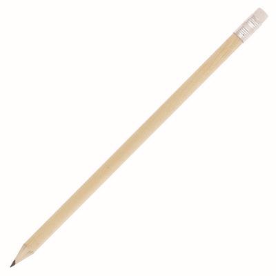 Pencil Sharpened Natural Wood Eraser