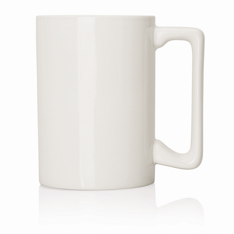 Ceramic Mug Extra Large D Handle 380ml