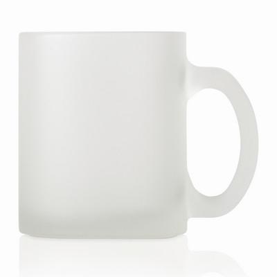 Glass Mug Frosted