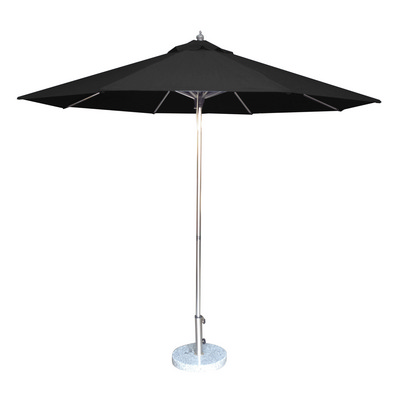 2.7m Tuscany Polished Market Umbrella, Olefin cover