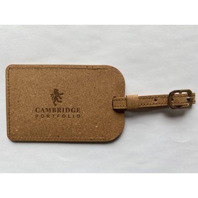 Heathrow Luggage Tag - Recycled Leather (LG01-RL_PLUS)