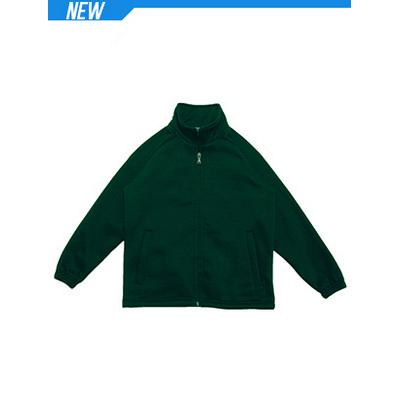 Kids PolyCotton Fleece Zip Through Jacket