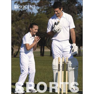 Kids Cricket Polo SS