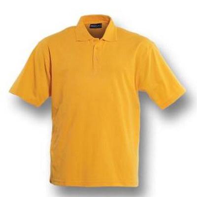 Kids Plain Colour Poly Face Cotton Backing SS Polo