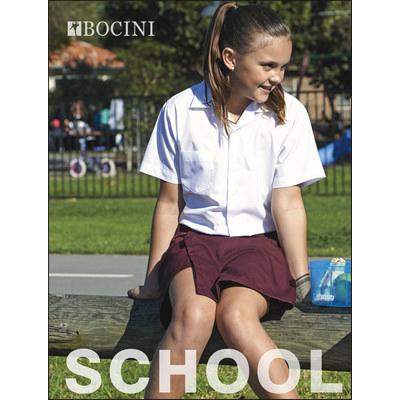 Girls S/S School Shirt CS1308_BOC