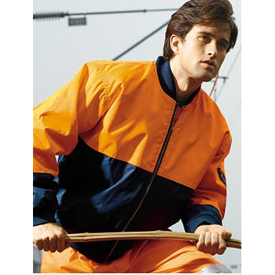 Unisex Adults Hi-Vis Flying Jacket (Lined)