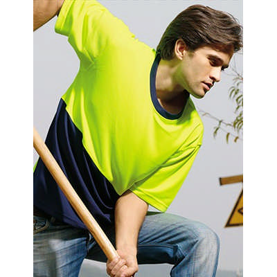 Unisex Adults Hi-Vis Safety Tee