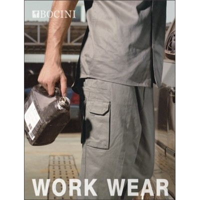 Cotton Drill Cargo Work Pants