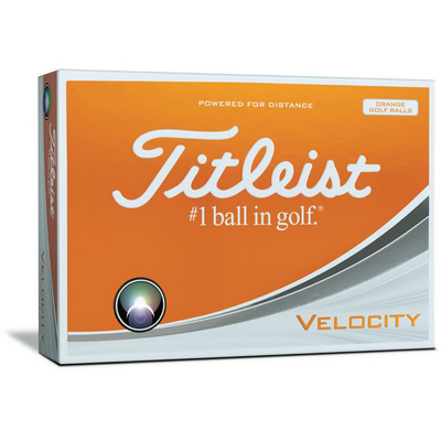 Titleist Velocity - Sleeves Orange (T8023SNPO_PPI)