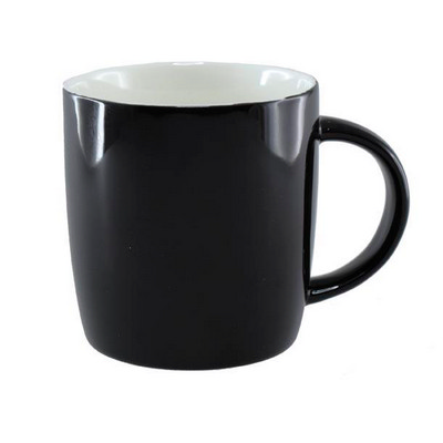 Ariston New Bone Barrel Mug - Black  White (NB1384502_PPI)