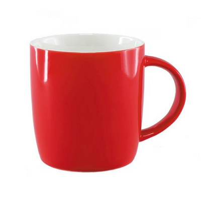 Ariston New Bone Barrel Mug - Red  White (NB1384402_PPI)