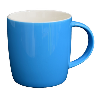 Ariston New Bone Barrel Mug - Cyan  White (NB1384181_PPI)