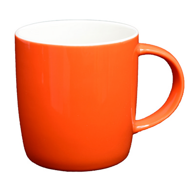 Ariston New Bone Barrel Mug - Orange  White (NB1384131_PPI)