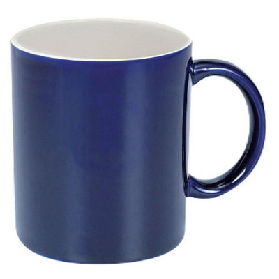 Can Mug Two-Tone Gloss Cobalt  White - (printed with 1 colour(s)) MUGSCANX301_PPI