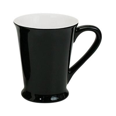 Florence Mug Gloss Black  White (MUGSFLOR201_PPI)