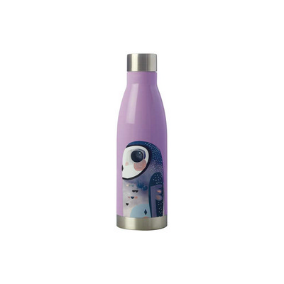 Pete Cromer Double Wall Insulated Bottle 500ML Owl (JR0007_PPI)