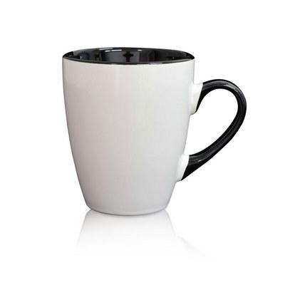 Madrid Mug White  Black (MUGSMADR102_PPI)
