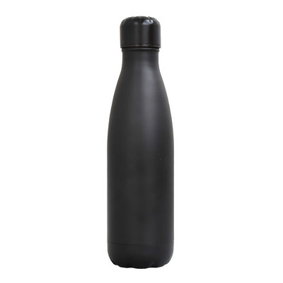 Sierra Stainless Steel Drink Bottle - Black (SRB03_PPI)
