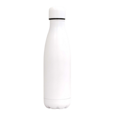 Sierra Stainless Steel Drink Bottle - White (SRB02_PPI)