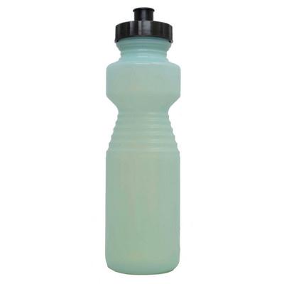 Ergonomic Drink Bottle 750ml UV Reactive Green To Blue (BOTTERGOL19_PPI)
