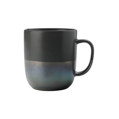 Lune Mug 400ML Charcoal Lustre - (printed with 1 colour(s)) DI0208_PPI