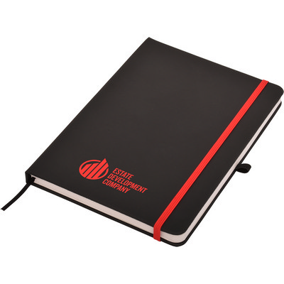 Carnival Plus A5 Notepad- Black - (printed with 1 colour(s)) J5600_PREMIER