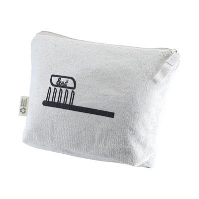 Calico Toiletry/Makeup Bag 14.5cmx22.5cm