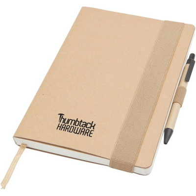 Enviro Notepad Large A5, Natural - (printed with 1 colour(s)) ECO3030_PREMIER