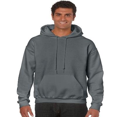 18500 Adult HB Hoody - Charcoal