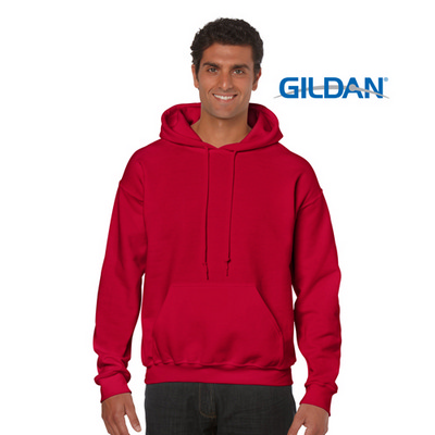 18500 Adult HB Hoody - Red