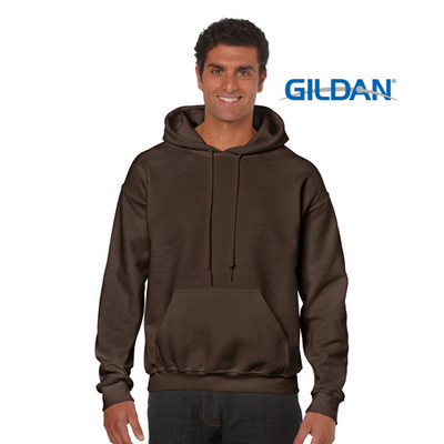 18500 Adult HB Hoody - Dark Chocolate