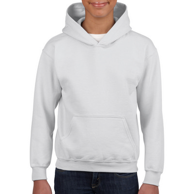 18500 Adult HB Hoody - White