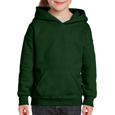 18500B Youth HB Hoody - Forest Green