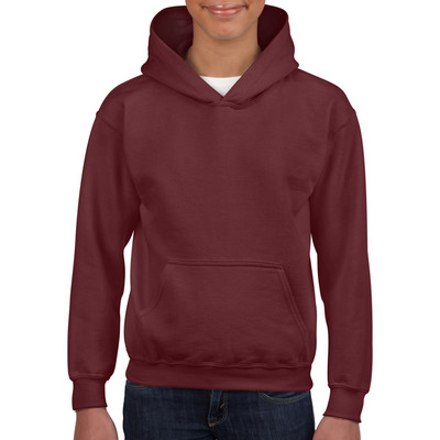 18500B Youth HB Hoody - Maroon