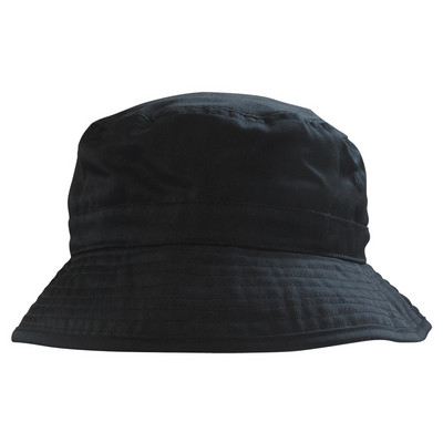 6535 PolyCotton Adjustable Bucket - Black